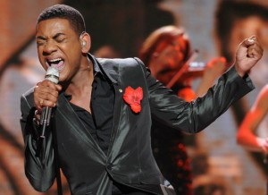 "Joshua Ledet blew everyone away with his cover of James Brown's ""It's A Man's World."" (Photo property of 19 Entertainment, FremantleMedia North America & FOX)"