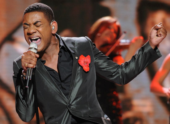 """Joshua Ledet blew everyone away with his cover of James Brown's """"It's A Man's World.""""  (Photo property of 19 Entertainment, FremantleMedia North America & FOX)"""