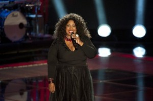 "Kim Yarbrough's ""Tell Me Something Good"" was one of the Best Blind Auditions from Season Two. (Photo property of Warner Horizon Television, One Tree Media & NBC)"