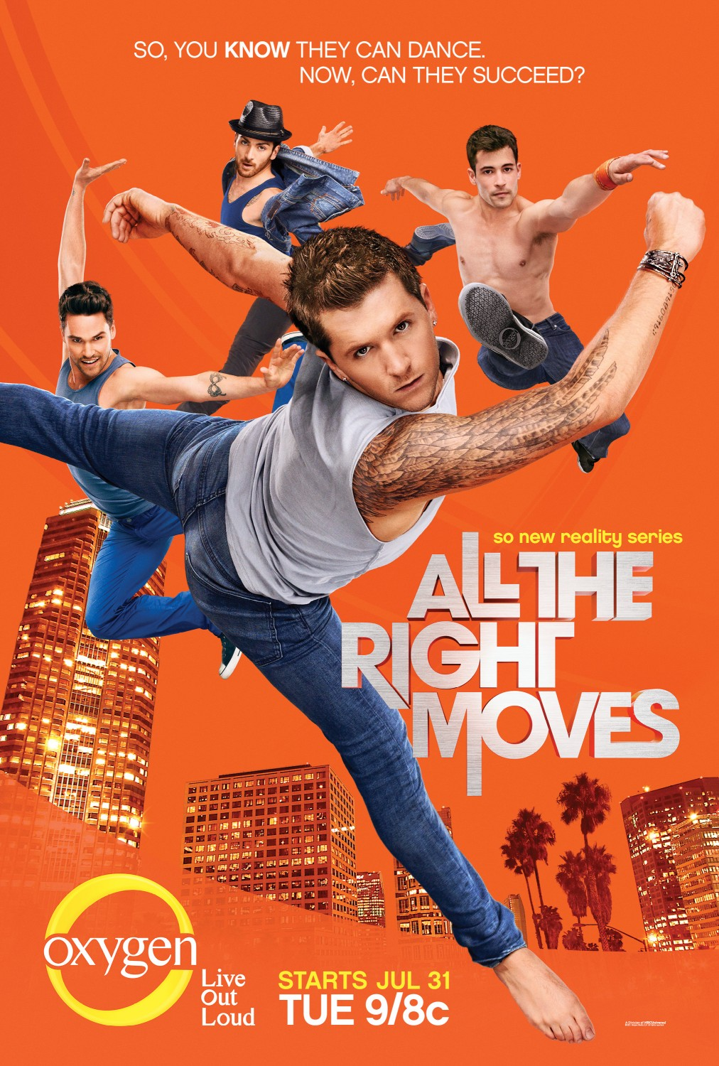 All the Right Moves oxygen Travis Wall