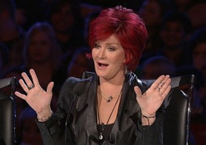 Sharon Osbourne X Factor judge?