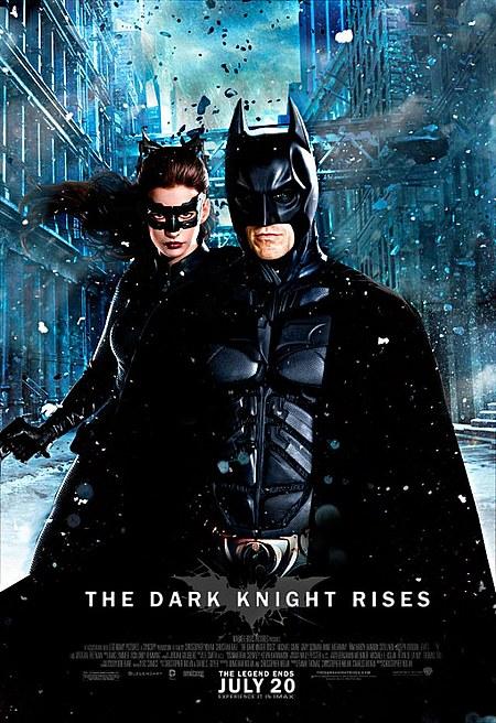 The Dark Knight rises Batman and Catwoman