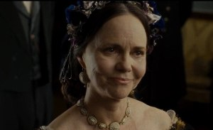 Sally Field delivered a powerful performance as Mary Todd Lincoln and should receive the Best Supporting Actress award. (Photo property of Dreamworks Entertainment, Amblin Entertainment & Touchstone Pictures)