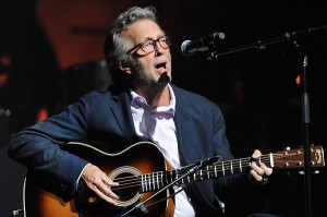 "Eric Clapton entertained the crowd at the Chesapeake Energy Arena with several signature songs plus new standouts from ""Old Sock."" (Photo property of Kevin Mazur/WireImage)"