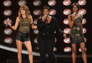 Angie Miler, Candice Glover and Amber Holcomb delivered amazing performances throughout the season. (Photo property of FOX's Michael Becker)