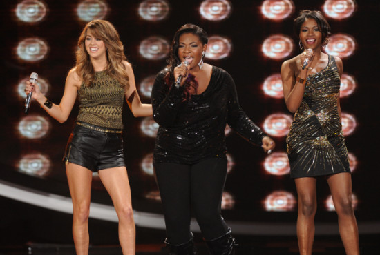 Angie Miler, Candice Glover and Amber Holcomb delivered amazing performances throughout the season. (Photo property of FOX&#039;s Michael Becker)