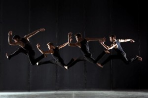 Teddy Forance, Travis Wall, Nick Lazzarini and Kyle Robinson