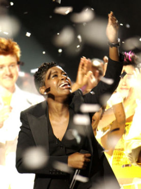 """There was not a dry eye in the house when Fantasia won """"Idol's"""" third season (Photo property of FOX)"""