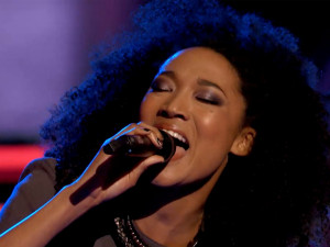 "Judith Hill is at the top of this year's ""Voice"" class. (Photo property of NBC, One Three Media & Warner Horizon Television)"