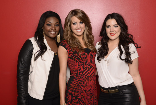 The Top Three became the Top Two as the American Idol Season 12 were revealed! (Photo property of 19 Entertainment, FremantleMedia North America &amp; FOX)