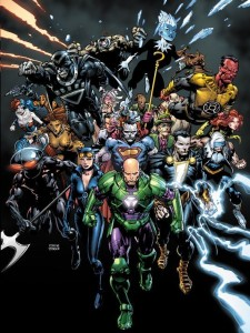 """The villains took over the DC Universe to commemerate the second anniversary of """"The New 52."""" (Cover by David Finch & Richard Friend; Property of DC Comics)"""