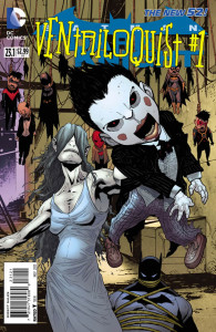 """The new Ventriloquist should have made an appearance in """"Batgirl 23.1"""" instead of """"Batman: The Dark Knight."""" (Cover property of DC Comics)"""