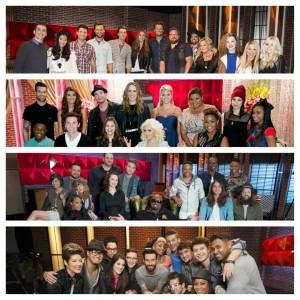 The Voice Season Five teams