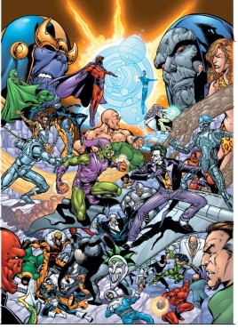 DC and Marvel villains Halloween