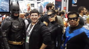 I met several key members of the Batman family at the New York Comic Con! The NYCC had the best cosplayers I have ever seen. (Photo property of Jacob Elyachar)