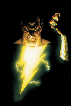 Black Adam is definitely one character that you do not want to meet inside a haunted house. (Artwork property of DC Comics)