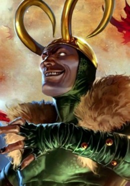 The God of Mischief and Evil's vile schemes puts him at number three in my countdown (Artwork property of Marvel Comics)