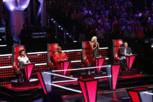 The coaches pushed their artists vocally on night three of The Battle Rounds! (Photo property of NBC)
