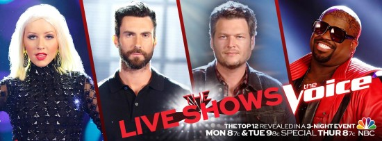 The Voice Season 5 Live Shows