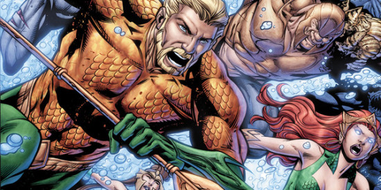 """Geoff Johns ended his run on """"Aquaman"""" with the final chapter of """"Death of a King."""" (Artwork property of DC Comics)"""