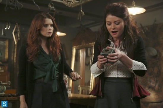 Ariel and Belle Once Upon A Time