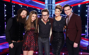 The Voice Season Five Final Five