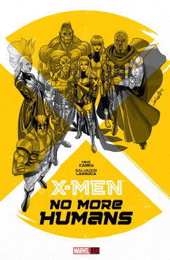 How will a divided X-Men team deal with a world with no humans? (Artwork by Salvador Larroca & Property of Marvel Comics)