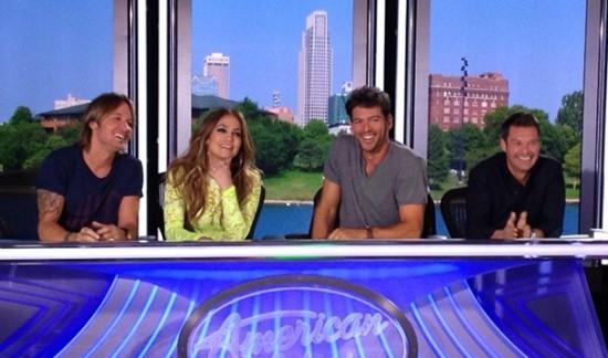 The American Idol 2014 crew