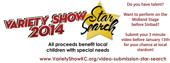 Out of 40 acts that entered the competition, only 10 of the best talent in Kansas City performed for a spot in next month's Variety Show. (Logo property of the Variety's Children Charity)