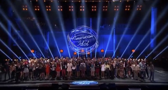 "One of these contestants will be your ""American Idol!"" But they have to make through the brutal cuts of Hollywood Week. (Photo property of FOX, FremantleMedia North America and 19 Entertainment)"