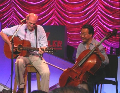 James Taylor and Yo-Yo Ma