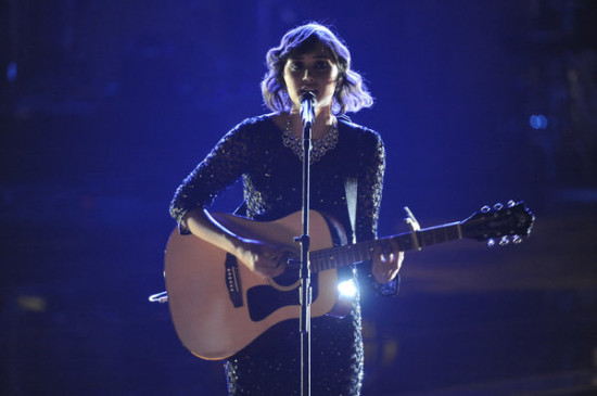 Dia Frampton's elegant vocals carried her all the way to the first season's Final Two. (Photo property of NBC's Lewis Jacobs)