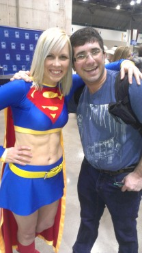 One of the best cosplayers at Planet Comicon is Supergirl.  She is always a hit with the crowd. (Photo property of Jacob Elyachar)