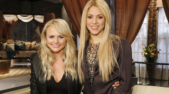 Miranda Lambert assisted Shakria during the Battle Rounds. (Photo property of NBC)