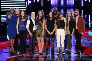"""""""The Voice: Season Six"""" Top 10 duke it out in Week Two of the Live Rounds"""
