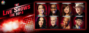 """The Voice: Season Six"" Top Eight tackle the third Live Show rounds"