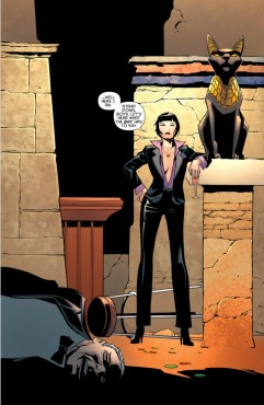 """Selina Kyle transformed herself from cat burglar to Queenpin of Crime as a result of """"Batman: Eternal"""" (Artwork property of DC Comics)"""