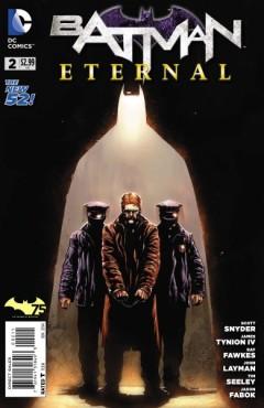 James Gordon arrest Batman Eternal