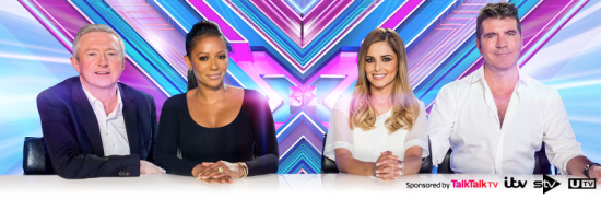 """X Factor UK"" stalwart Louis Walsh will welcome Mel B to the show as Simon Cowell and Cheryl Fernandez-Versini return for the English talent competition's eleventh season. (Photo property of SYCO Productions and ITV)"