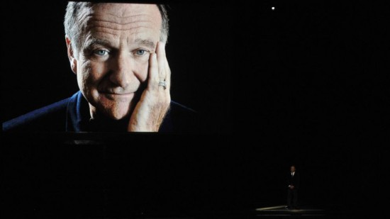 Billy Crystal celebrates Robin Williams