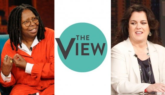 """The View"" gets a makeover as Whoopi and Rosie prepare for the ABC chat show's 18th season! (Photos and logo property of ABC)"
