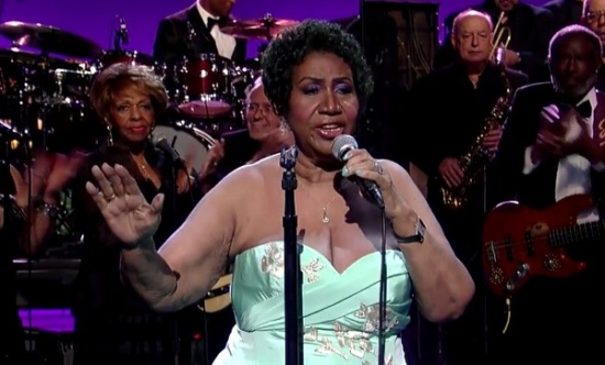 Aretha Franklin and Cissy Houston Rolling in the Deep