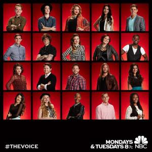 The Voice: Season Seven Top 12 are revealed!