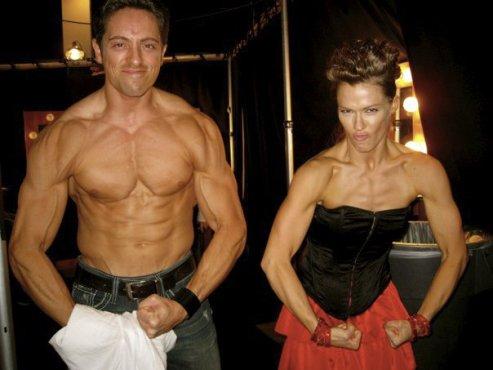 Buff Ryan and Ashleigh Di Lello