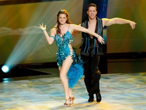 """Ryan returned to """"So You Think You Can Dance"""" as an All-Star and teamed up with Valerie for a show-stopping Samba! (Photo courtesy of Ryan Di Lello)"""