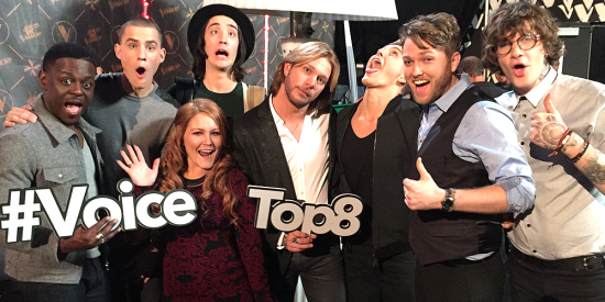 The Voice Top Eight