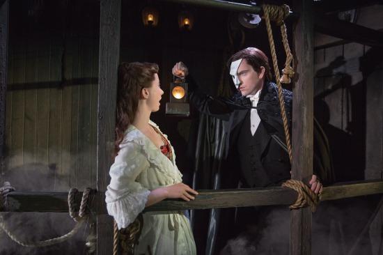Chris Mann is the Phantom of the Opera