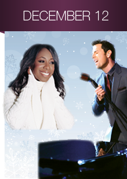 Chris Mann will join forces with Oleta Adams and the Kansas City Symphony for a special performance this Friday night at the Kauffman Center for Performing Arts. (Photo property of the Kansas City Symphony)
