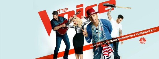 """Pharrell Williams leads """"The Voice"""" coaches"""