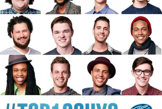 American Idol XIV Top 12 Guys